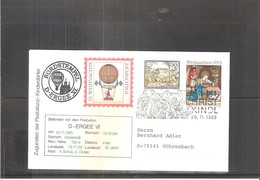 Österreich 1993, Weihnachts- Ballonpost - Par Ballon