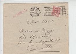 ITALIA  1922 - Targhetta Postale Pubblicitaria - Posta