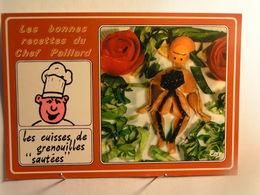 Humour - Les Bonnes Recettes Du Chef Paillard - Les Cuisses De Grenouilles Sautées - Humour