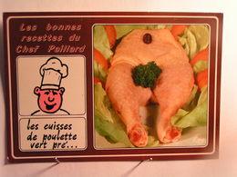 Humour - Les Bonnes Recettes Du Chef Paillard - Les Cuisses De Poulet Vert Pré - Humour