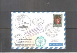 Österreich 1970 - Karte Ballonpost - Par Ballon