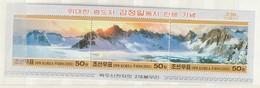 North Korea  2005 Art-Scene-Mountain M.S. UM - Corea Del Norte