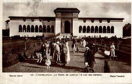 MAROC CASABLANCA LE PALAIS DE JUSTICE LE COIN DES MAMANS - Casablanca