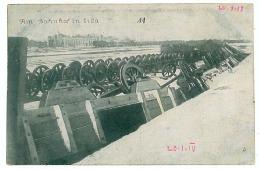 BL 17 - 7826 LIDA, Belarus, Railway Station, Wagons Overturned - Old Postcard - Used - 1918 - Belarus