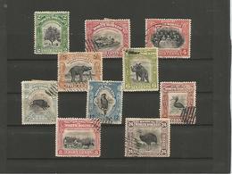 North Borneo     10 Timbres    Oblitérés - Groot-Brittannië (oude Kolonies En Protectoraten)