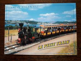 Le Lac De Villerest. Le Petit Train. - France