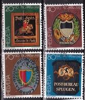 Suisse Schweiz 1981 Pro Patria Postschilder Kompletter Satz Michel 1199 / 1202 - Pro Patria