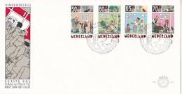 Nederland - FDC - Kinderzegels - Het Kind En Het Stripverhaal - Joost Swarte - NVPH E223 - Fairy Tales, Popular Stories & Legends