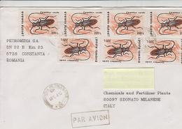 ROMANIA  1996 - Lettera Per Italia - Yvert 4314 - Other