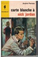 Marabout Junior      CARTE BLANCHE A NICK JORDAN     Par André Fernez - Marabout Junior