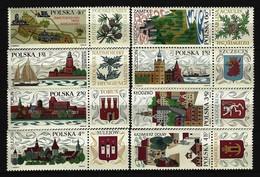 POLEN - Mi-Nr. 1916 - 1923 Fremdenverkehr Postfrisch - 1944-.... Republik