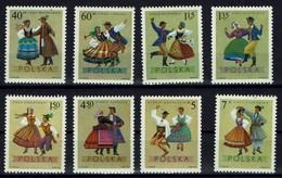 Polen Polska 1969 - Trachten - MiNr 1951-1958 - Kostüme