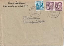 ALLEMAGNE 1948 ZONE FRANCAISE LETTRE DE FREUDENSTADT - Französische Zone