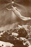 [DC7619] CPA - BELLA CARTILINA MONTAGNE -Viaggiata 1915 - Old Postcard - Cartoline