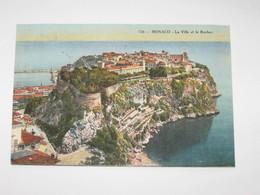 PRINCIPATO DI MONACO -  VIAGGIATA  1918 COLORI VG - Monte-Carlo