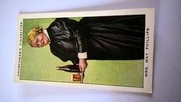 CHURCHMAN'S CIGARETTES IN TOWN TO NIGHT N°34 - Churchman