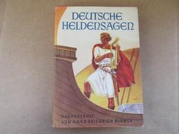 Deutsche Heldensagen (Hans Friedrich Blunck) éditions De 1952 - Livres, BD, Revues