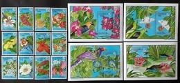 Gambia 1992** Mi.1349-64 (Flowers) [22;14] - Végétaux