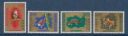 CHINE / FORMOSE - YVERT N° 763/766 ** - COTE = 9 EUR. - - 1945-... République De Chine