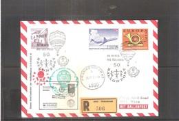 Österreich 1973 - Ballon Postflug - On Registered Cover (to See) - Par Ballon