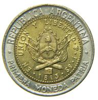 [NC] ARGENTINA - BIMETALLICA - 1 PESO 1994 - Argentina