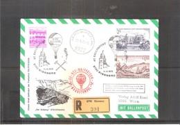 Österreich 1972 - Ballon Postflug - On Registered Cover (to See) - Par Ballon