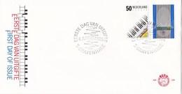 Nederland - FDC - Europa-CEPT 1985, Muziek - Piano/orgel - NVPH E228 - Music