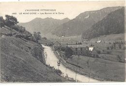 L'AUVERGNE PITTORESQUE .2882. LE MONT-DORE . LES BURONS ET LE SANCY . CARTE NON ECRITE - Le Mont Dore