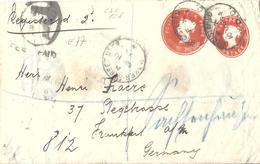 Grande Bretagne Großbritannien Britain, Entier Postal Ganzsachen Postal Stationery, Enveloppe Umschläge Envelope - Stamped Stationery, Airletters & Aerogrammes