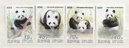 North Korea 2005 Panda (4) UM - Corea Del Norte