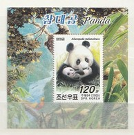 North Korea 2005 Panda M.S. UM - Corea Del Norte