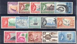 Serie Nº 80/94 Falta 88A Y 89A Salomon Island - Salomonen (...-1978)