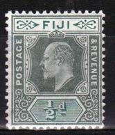 Fiji 1903 King Edward ½d Green And Pale Green Single Stamp. - Fiji (...-1970)