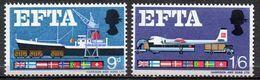 GREAT BRITAIN 1967 European Free Trade Association (ordinary) - 1952-.... (Elizabeth II)