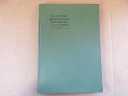 Zeitschrift Des Deutschen Und Österreichischen Alpen-Vereines / éditions De 1924 - Livres, BD, Revues