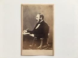 Cdv Karton Prince Consort England Albert (queen Viktoria Victoria) Photo New York Anthony Broadway - Familles Royales