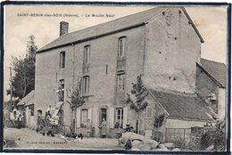 SAINT BENIN DES BOIS - LE MOULIN NEUF - CHARGEMENT DE SAC - ANIMATION - BEAU PLAN - France