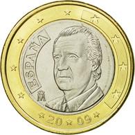 Espagne, Euro, 2009, SUP, Bi-Metallic, KM:1073 - España