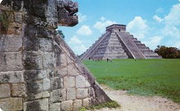 MEXICO ,Chichen Itza , Yucatan - Messico