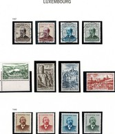 1947: 12 Timbres  Neuf & Oblitéré  Michel 2017: Valeur: 104,00€ - Luxembourg