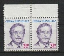 MiNr.167 Tschechische Republik: 1998, 22. Jan. Freimarke: Václav Havel. - Tschechische Republik