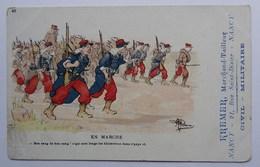 CPA Publicitaire, Kremer, Nancy (54), Marchand Tailleur, Rue Saint-Dizier, Sur Carte Illustrateur, Militaria - Publicité