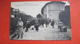 COMBREE. Intérieur De La Gare Un Jour De Rentrée De Collège. - France