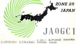 NIIGATA   ,  Japan   ,  QSL  , Radioamatori - Giappone
