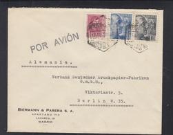 Spanien Espana Brief Madrid Censura Militar - 1931-Heute: 2. Rep. - ... Juan Carlos I
