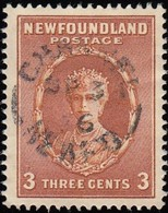 NEWFOUNDLAND - Scott #187 Queen Mary 'Perf. 13½' (*) / Used Stamp - 1911-1935 Reign Of George V