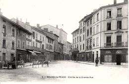 BOURG DE PEAGE     ENTREE DE LA GRANDE RUE - France