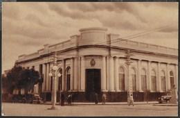 ARGENTINA - SAN FRANCISCO - BANCO DE LA NACION ARGENTINA - FORMATO PICCOLO - VIAGGIATA 1951 FRANCOBOLLO ASPORTATO - Argentina