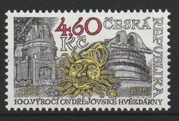 MiNr.171 Tschechische Republik: 1998, 25. März. 100 Jahre Observatorium Von Ondrˇejov (Ondrejow). - Tschechische Republik