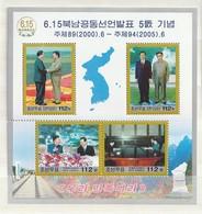 North Korea 2005 6.15 Railtrack-Map (4) SHEET UM - Corea Del Norte